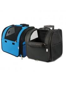 Bolso-mochila con ruedas y...