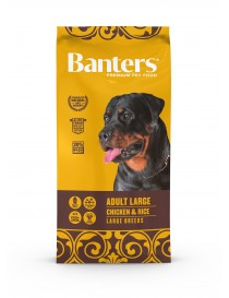 Visán Banters adulto razas grandes 15 kg.