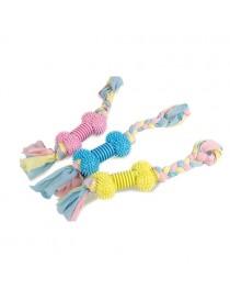 Juguete hueso con cuerda de...