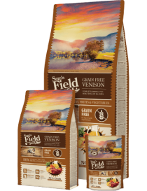 Sam's Field NO GRAIN adulto venado 13 kg.