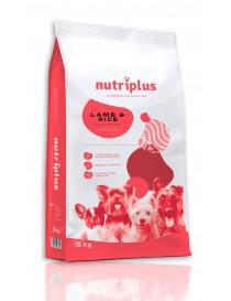Nutriplus adulto cordero premium 15 kg.