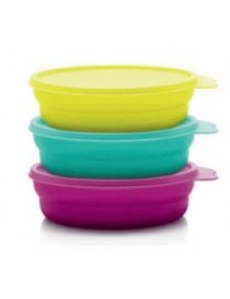 Tupperware Set de 3 platos...