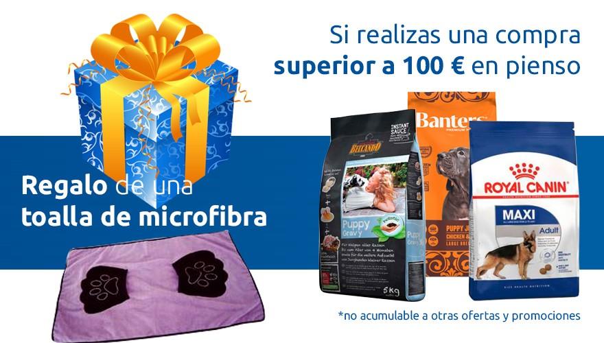 Promoción Toalla microfibra
